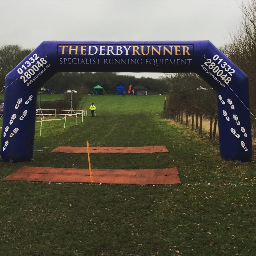 Derby Runner Midland Cross Country Championships