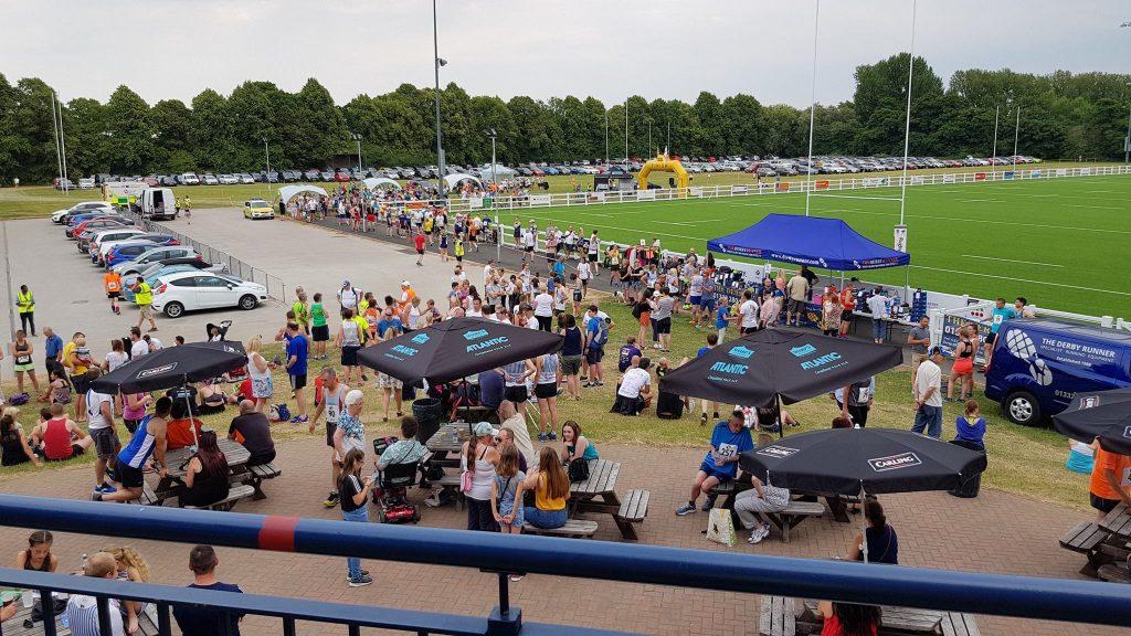 Derby Runner stall at The Colin Potter Memorial 10K