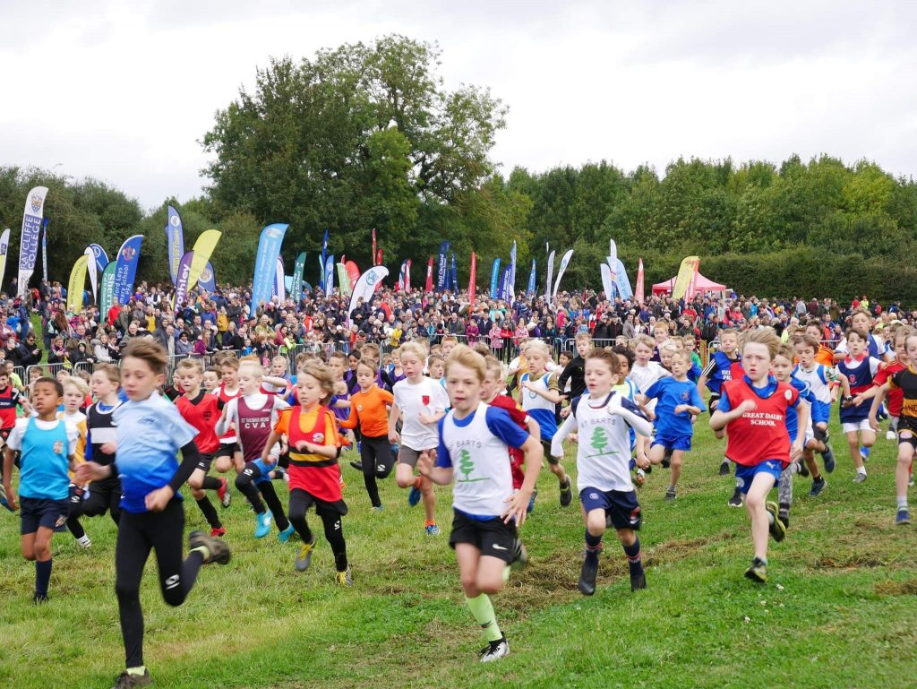 #derbyrunnerstall at Leicester Primary Cross Country
